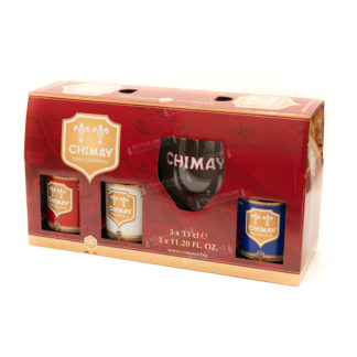 Chimay pack 3x33cl + copa