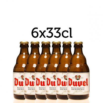 6x Duvel 33cl