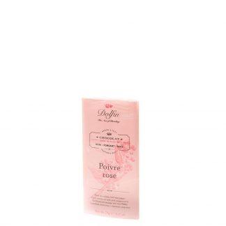 Dolfin Chocolate Pimienta rosa 70g